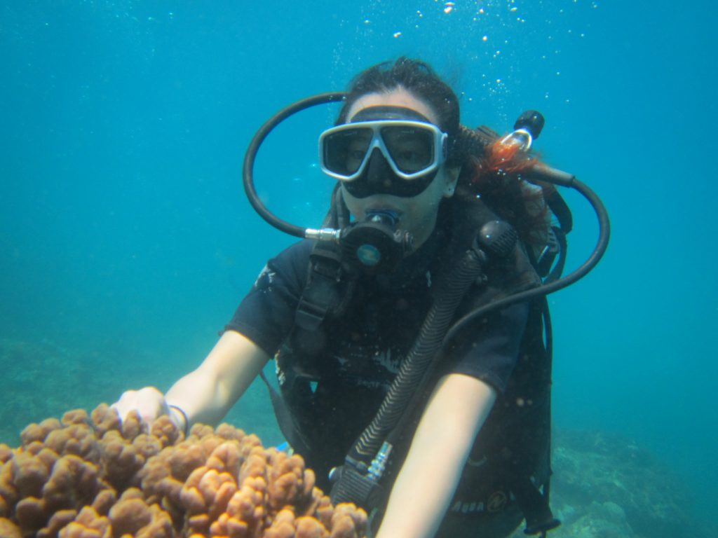 scuba diving at pandawa marine adventure bali