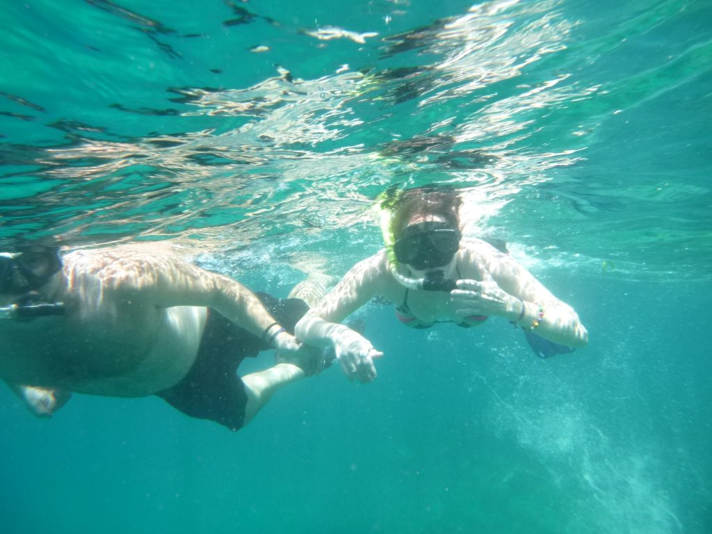 SNORKELING at pandawa marine adventure bali