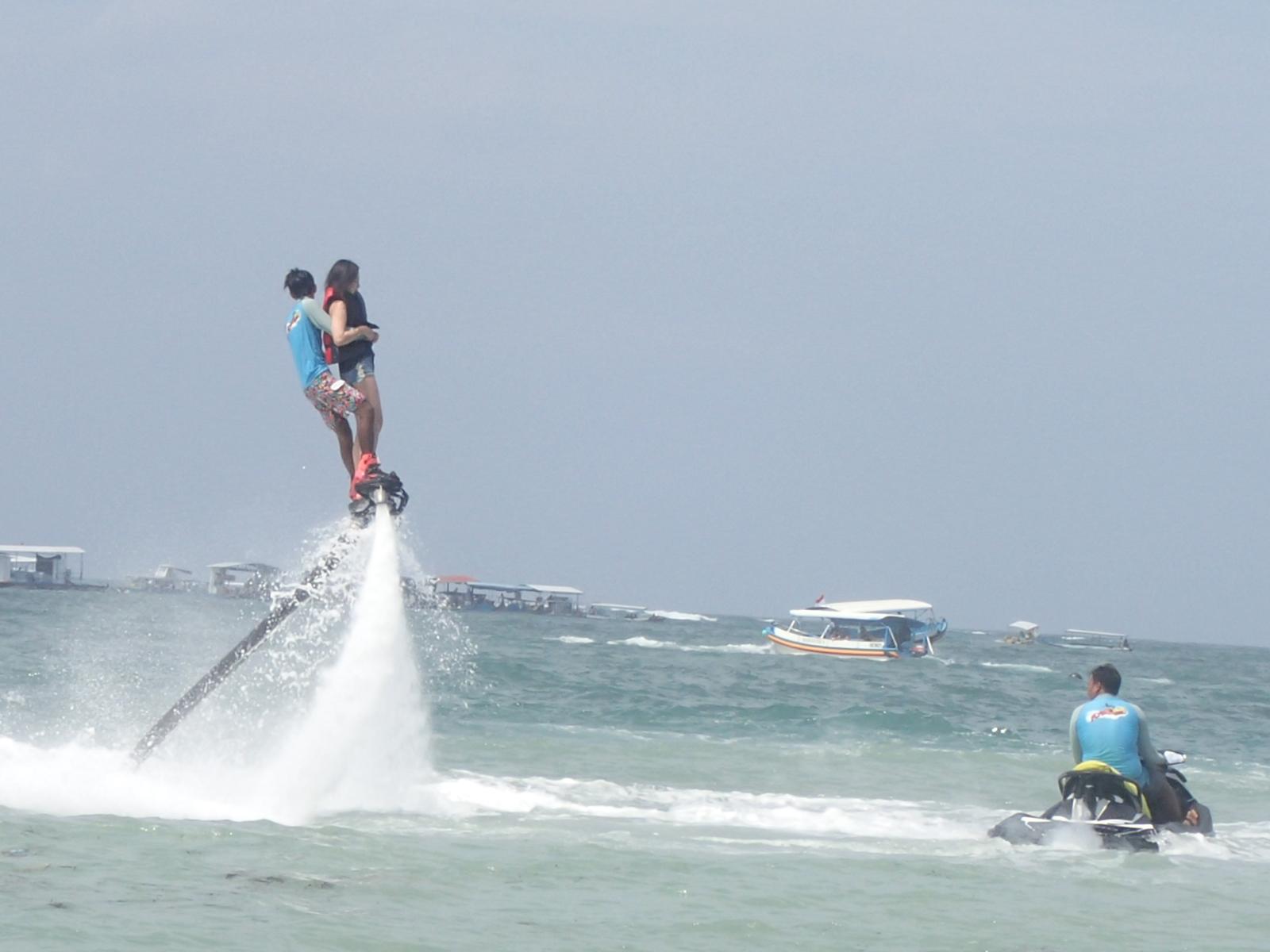 flying board at pandawa marine adventure bali
