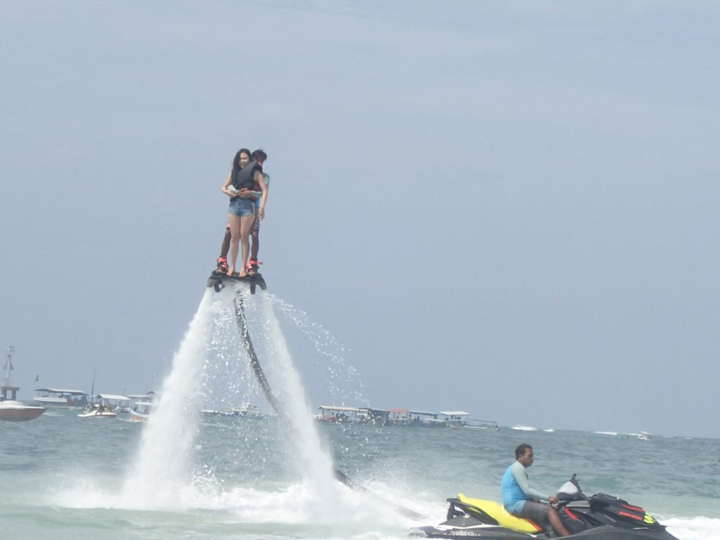 flying board at pandawa marine adventure bali