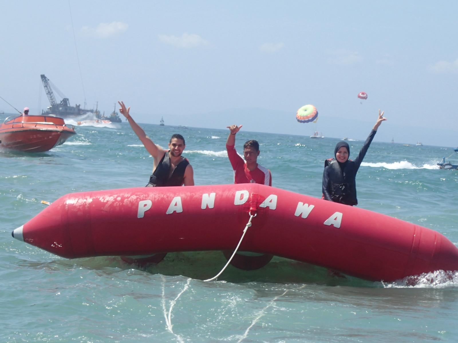 fly fish at pandawa marine adventure bali