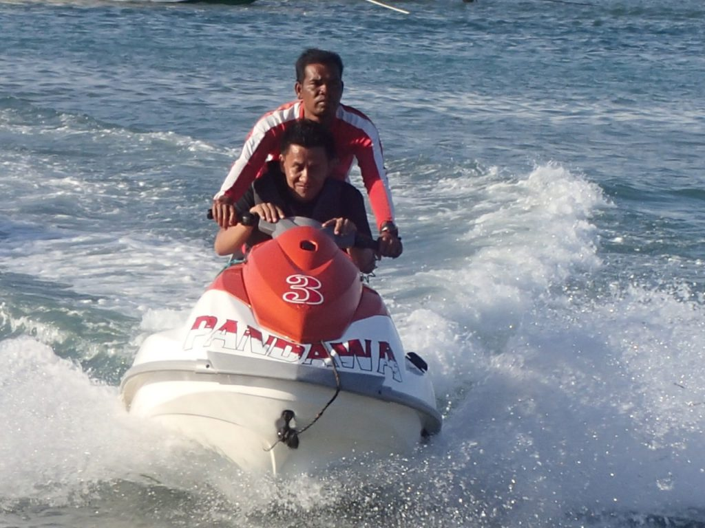 jet ski at pandawa marine adventure bali