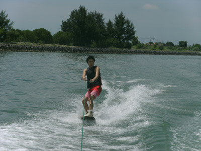 wake board at pandawa marine adventure bali